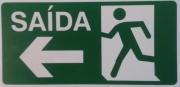 indicativa   placa-saida-a-esquerda-12x24cm-fotoluminescente-pl-014