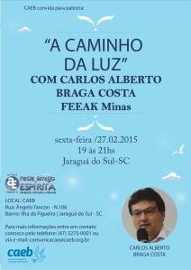 Paletsra _ Carlos Alberto Braga Costa-AO VIVO CANAL 1